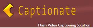 Captionate Captioning Tool