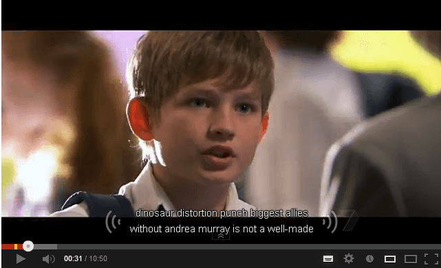 ASR Captions and Adding Accurate Closed Captions