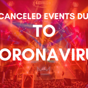 Cancellation of Live Events : COVID-19 Outbreak