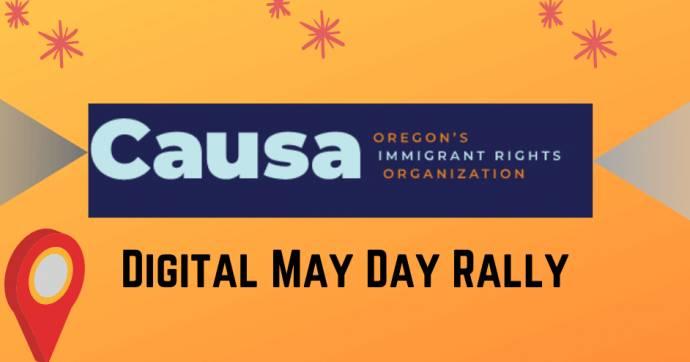 May day rally digital
